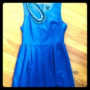 J. Crew Blue Sleeveless Dress